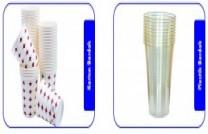 Plastik ve Karton Bardak
